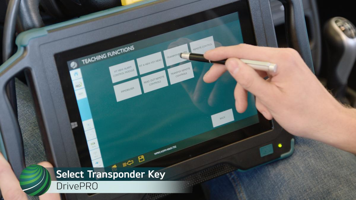 How to Program Remote Key on Porsche 996 vehicles