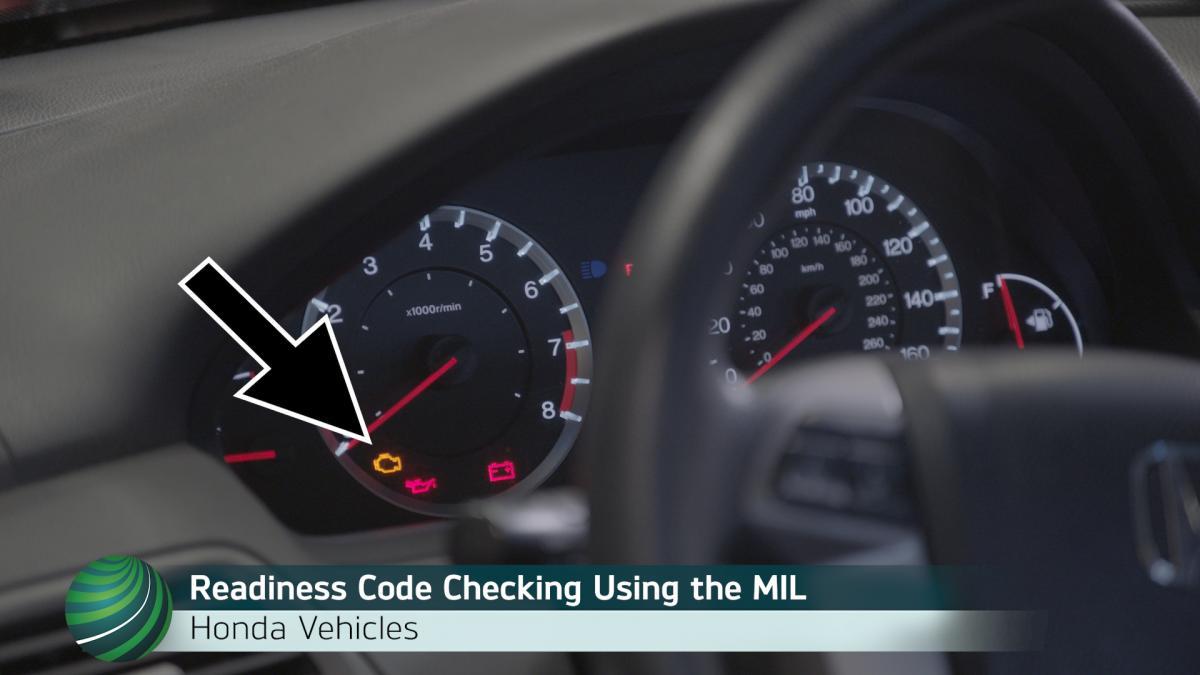Checking Honda OBD II Emission Monitor Status