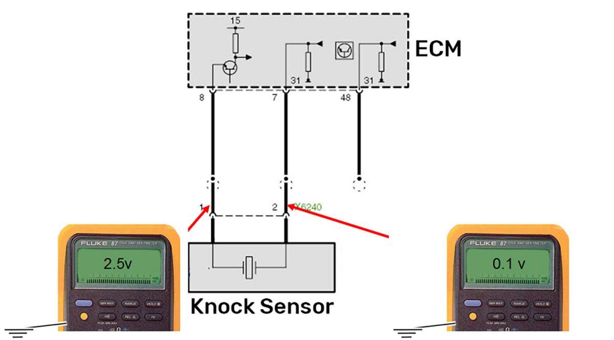 piezoelectric knock sensors design function testing 1993 Silverado Knock Sensor Wiring Diagram