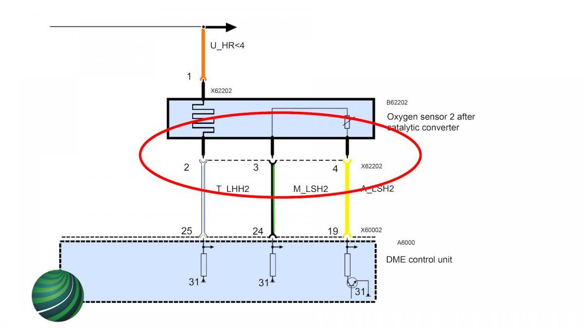 BMW Oxygen Sensor Testing- BMW Fault code 2C78 or P0160 | Bmw O2 Sensor Wire Diagram 4 |  | Autologic Diagnostics