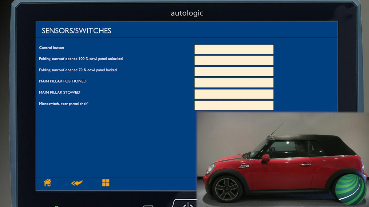 How To Test MINI Cooper R57 Convertible Top Roof Switch