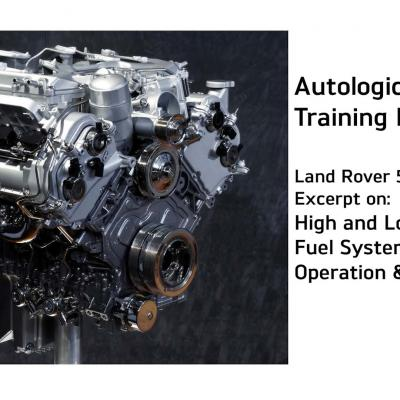 Land Rover 5.0 High Pressure Fuel System Training Video