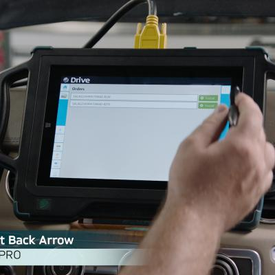 In the video how to program the suspension control module on land Rover LR4 models is shown using Autologic's DrivePRO.