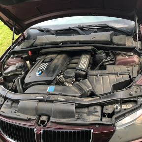 2008 BMW E90 328xi 6-Cylinder N51 Engine