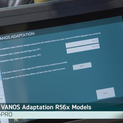 How to Perform a VANOS Adaptation on MINI R57 Models