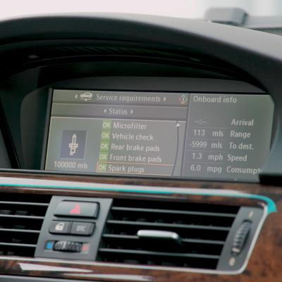 BMW iDrive Display Reset - How to